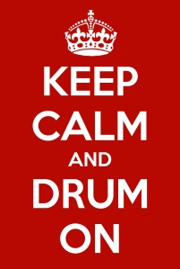 KeepCalmDrumOn